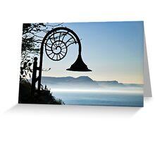 Morning Fog ~ Lyme Regis Greeting Card