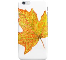 Red Maple Leaf iPhone Case/Skin