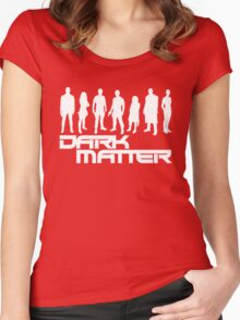 dark matter Women's Fitted Scoop T-Shirt