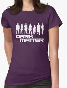dark matter Womens Fitted T-Shirt