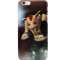 Pig Vicious - Hog Save The Queen iPhone Case/Skin