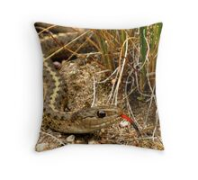 Scary Surprise Throw Pillow