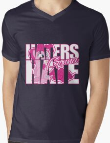 Pinkie Pie - Haters gonna Hate Mens V-Neck T-Shirt