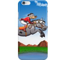 Olympic Equestrian Jumping Dog iPhone Case/Skin