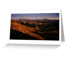 south Queensland sunrise Greeting Card
