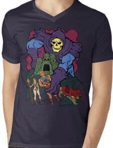 Playing With My Toys Mens V-Neck T-Shirt