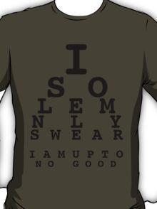 Marauders' Eye Chart T-Shirt