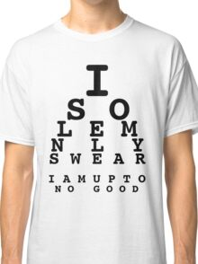 Marauders' Eye Chart Classic T-Shirt