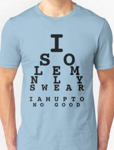 Marauders' Eye Chart Unisex T-Shirt