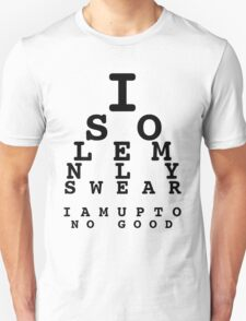 Marauders' Eye Chart T-Shirt