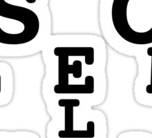 Marauders' Eye Chart Sticker