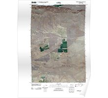 USGS Topo Map Washington State WA Emerson Nipple 20110407 TM Poster