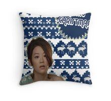 Merry TeenWolf-mas [Kira] Throw Pillow