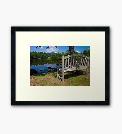Nook Framed Print