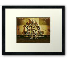 Steampunk Robot - The Nemesis Framed Print