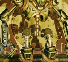 Steampunk Robot - The Nemesis Sticker