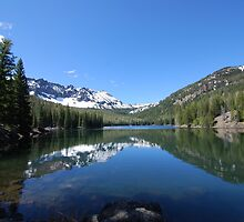 Strawberry Lake Reflection by Payne24