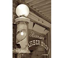 Barber's Pole Photographic Print