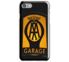 Vintage Garage Sign iPhone Case iPhone Case/Skin