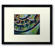 Rotary Phone Framed Print