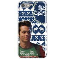 Merry TeenWolf-mas [Stiles] iPhone Case/Skin
