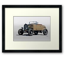 1930 Ford 'Rod'n in the 30's' Roadster Framed Print