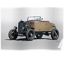 1930 Ford 'Rod'n in the 30's' Roadster Poster