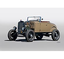 1930 Ford 'Rod'n in the 30's' Roadster Photographic Print