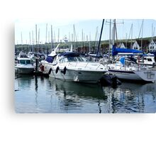 Yachts - Port Solent Portsmouth Canvas Print