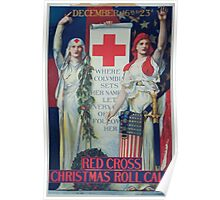 Red Cross Christmas roll call December 16th to 23rd 002 Poster