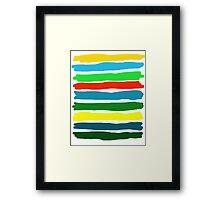 Brush Strokes #5 Framed Print