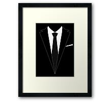 The Moriarty Look Framed Print