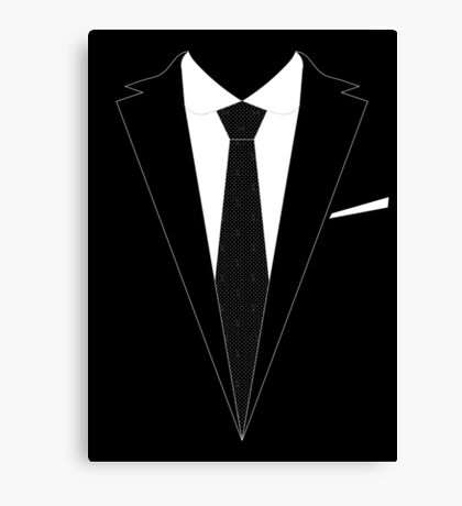 The Moriarty Look Canvas Print