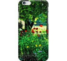 Woodland and Poppies iPhone Case/Skin