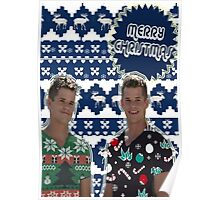 Merry TeenWolf-mas [Twins] Poster
