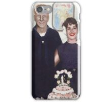 MOM AND DAD WEDDING iPhone Case/Skin