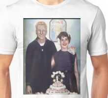 MOM AND DAD WEDDING Unisex T-Shirt
