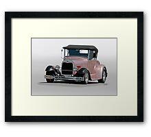 1929 Ford 'Champagne Blush' Roadster Framed Print
