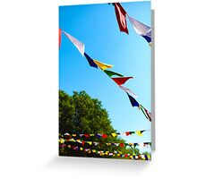Bright Winds Greeting Card