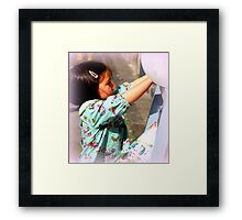 Abstract childs play Framed Print