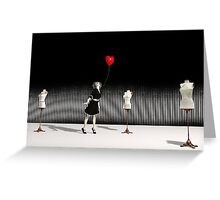 Love - Surrealism Greeting Card