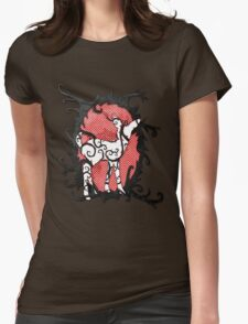 Wonderland Fawn Womens Fitted T-Shirt