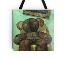 The Old and Unloved Teddy Bear Tote Bag