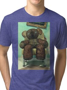 The Old and Unloved Teddy Bear Tri-blend T-Shirt