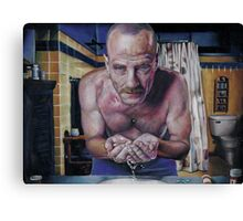 "Walter ""Heisenberg"" White Canvas Print"