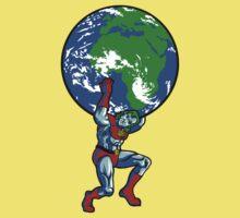 Captain Planet Shrugged Kids Clothes