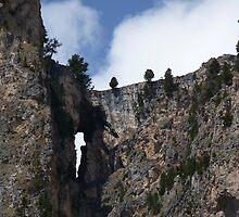 Rocky Bridge - Val Gardena, Italy by Kat Simmons