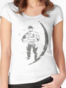 worn away Women's Fitted Scoop T-Shirt