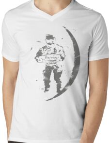 worn away Mens V-Neck T-Shirt