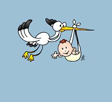 Stork with baby Unisex T-Shirt